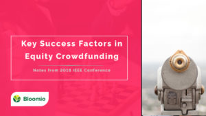 Key Success Factors in Equity Crowdfunding