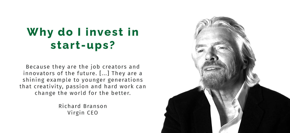 R. Branson: why do I invest in startups?