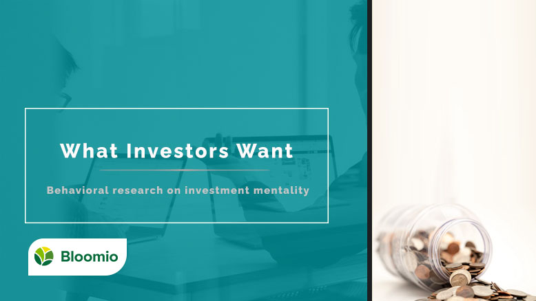 what investor want - Title